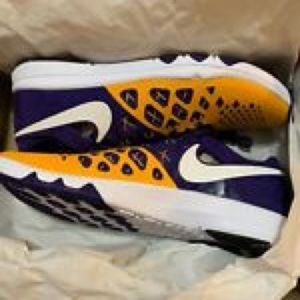 Nike Size 12. Never worn, brand new.LSU colors.